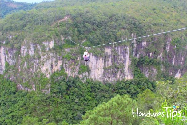 Canopy-Extremo-La-Campa Honduras Tips